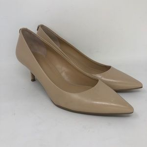 Michael Kors Tan Leather High Heel Pumps 8